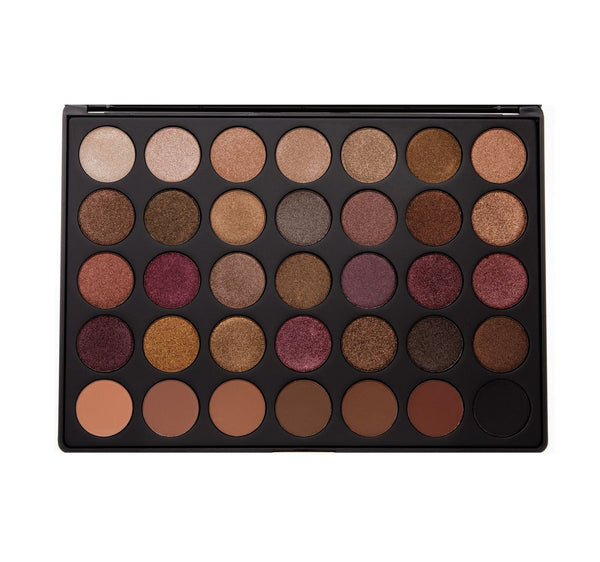 Morphe Brushes Eyeshadow Palette 35F Fall into Frost