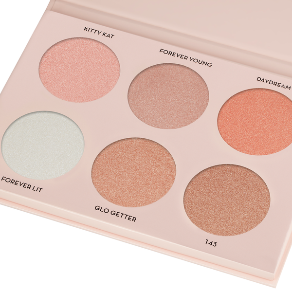 Ana Bev Hils Glow Kit Highlight Palette - NICOLE GUERRIERO