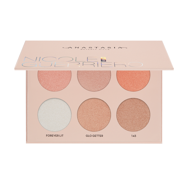 Anastasia Beverly Hills Glow Kit NICOLE GUERRIERO Highlight palette Makeup