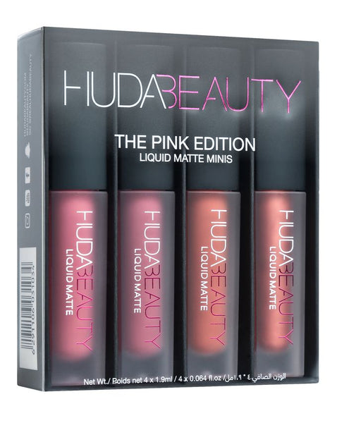 Huda Beauty The Nude Edition 4 Liquid Matte Minis