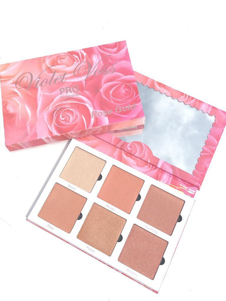 Violet Voss Rose Gold Highlighter Face Palette