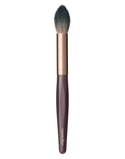 Charlotte Tilbury Powder & Sculpt Brush Rose Gold & Night Crimson