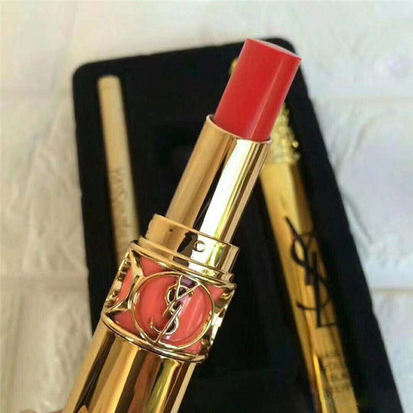 Yves Saint Laurent Lips & Eyes Gift Set of 3 Limited Edition