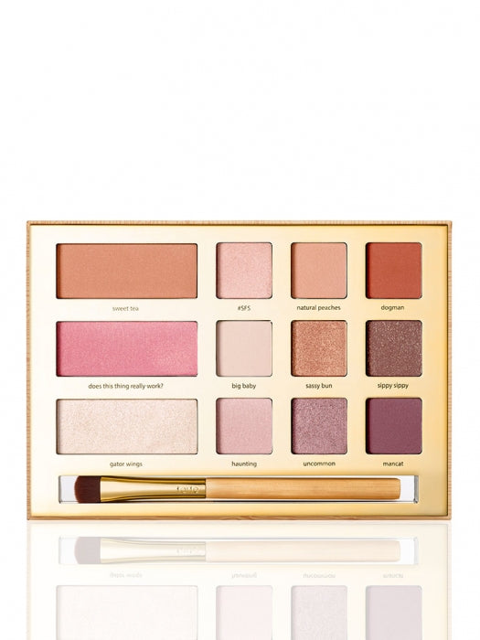 Tarte Swamp Queen eye & cheek palette + brush limited-edition