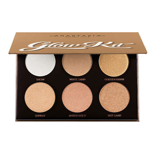 Anastasia Beverly Hills Glow Kit ultimate glow Highlight palette Makeup