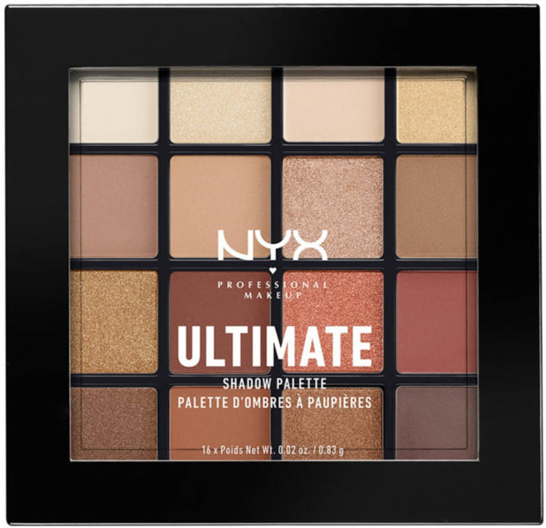 NYX Ultimate Warm Neutrals Eyeshadow Palette