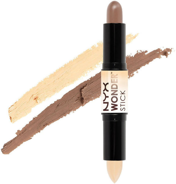 NYX Wonder Stick Highlight and Contour Duo - Various Colours
