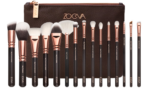 Zoeva Rose Golden Complete Set Vol. 1 Makeup Brushes - 15 pieces