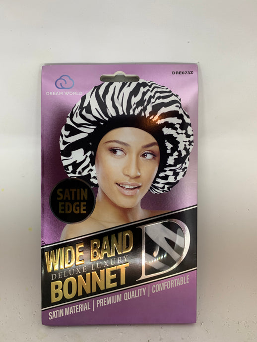 Dream Satin Wide Band Bonnets