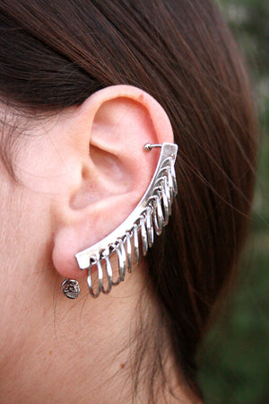 Cheap Monday - Halo Earcuff Rhodium