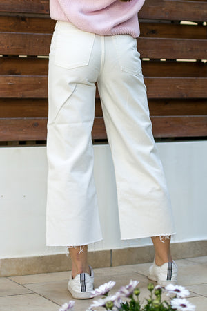 Cheap Monday - Ally Jeans Blank White