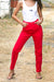 Cheap Monday - Donna OD Red Jeans