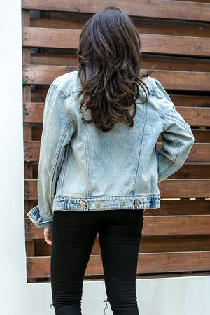 Cheap Monday - Legit Denim Jacket Tom Blue