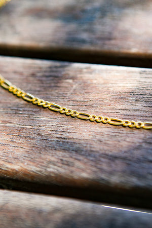 Cinco - Gia Choker 925 Sterling Silver / 24k Yellow Gold Plated