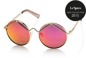 Le Specs Sunglasses - Wild Child Gold