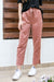 NA-KD - Satin Pants Terracotta