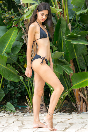 Phax Swimwear - Color Mix Bikini Bottom Latin Black