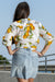 Queencii - Shirt Lemons White Yellow