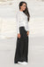 Queencii – Emma Wide Leg Pants Black