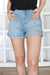 Cheap Monday - Donna Fans Shorts BluE