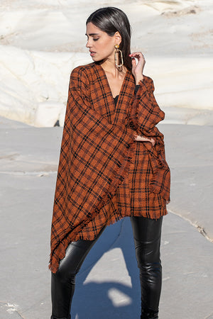 Sun Sea & Roses – Elpis Checked Cape Brown