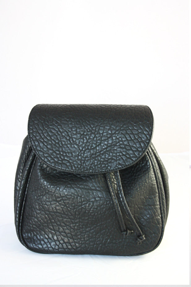 Gracie Roberts Bag - Heavy Pebble Pack Black