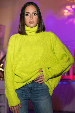 Queencii – Ivy Sweater Green