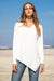 Queencii – Marin Top Long Sleeve White