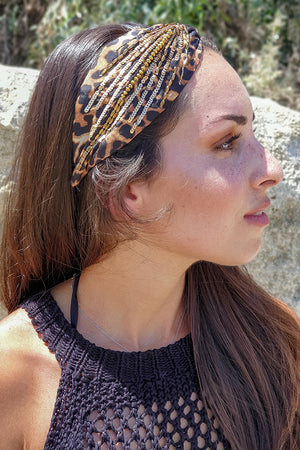 Namjosh – Headband Leopard