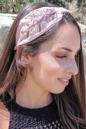 Namjosh – Headband Light Pink Multicolor
