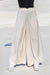 Queencii – Emma Wide Leg Pants Off White
