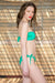 Phax Swimwear – Color Mix Bikini Strapless Top Bright Green