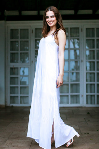 Phax - Tropical Expedition Dress White