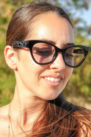 Le Specs Luxe - Raffine Panthere Black Grey Tint