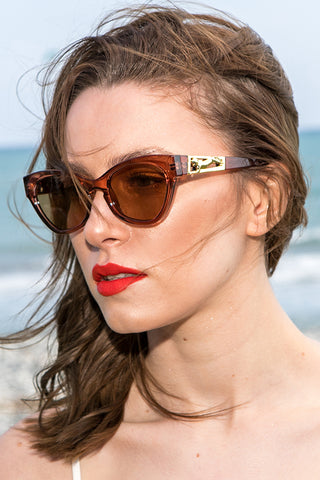 Le Specs Luxe – Raffine Panthere Paprika