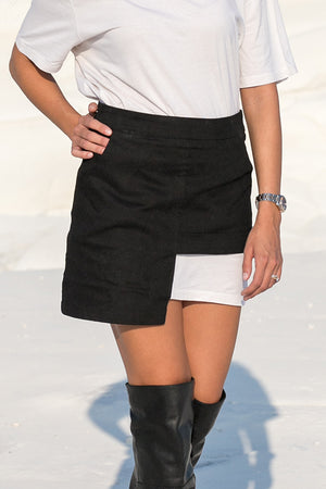 She.Is.US – Sonata Skirt Black
