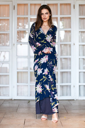 Rut & Circle - Charlie Long Flower Dress