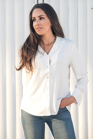 Queencii – Louise Shirt White