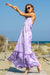 Sun Sea & Roses – Artemis Tie Dye Dress Purple