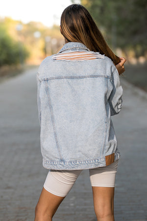 Cheap Monday - Upsize Denim Jacket Lit Trash