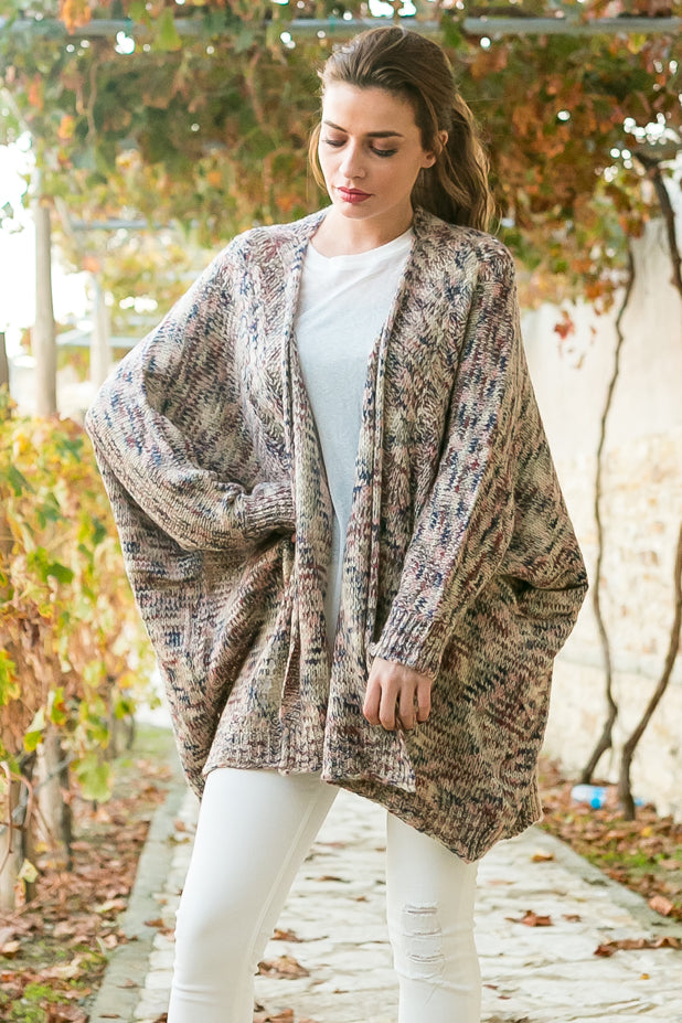 Over sized cardigan
