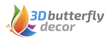3D Butterfly Decor