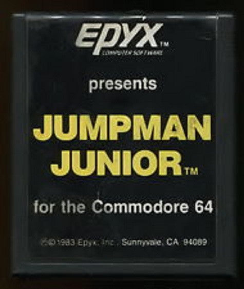 EPYX Jumpman Junior for the Commodore 64
