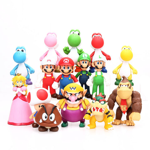 [Super Mario Bros] Collectible Character Figure Toys - Anime Action Bay