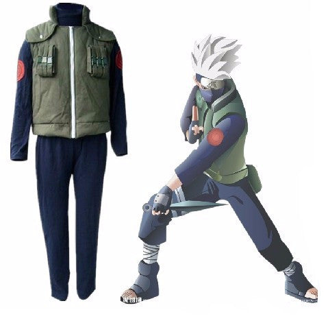 [Naruto] Kakashi Hatake Cosplay Costume - Anime Action Bay