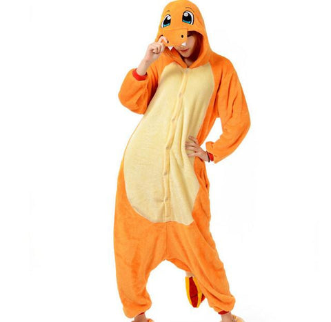 [Pokémon] Charmander Costume Sleepwear Onesie - Anime Action Bay