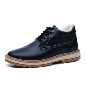 Warm Waterproof Breathable Men's Casual Shoes