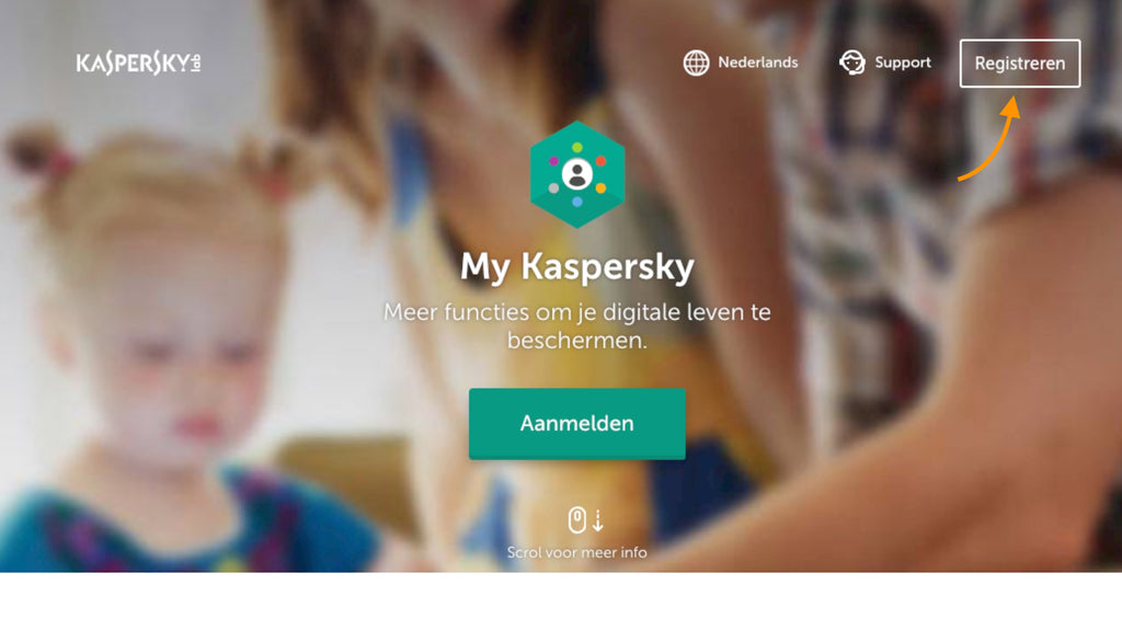 my kaspersky account aanmaken