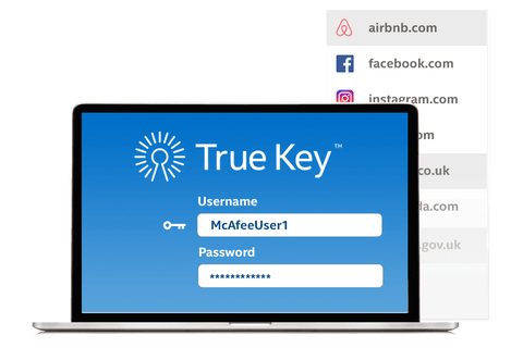 True Key - password manager