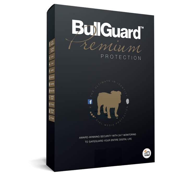 BullGuard Premium Protection - voor 10 apparaten